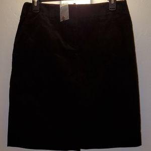 JCrew Fine Wale Corduroy Pencil Skirt